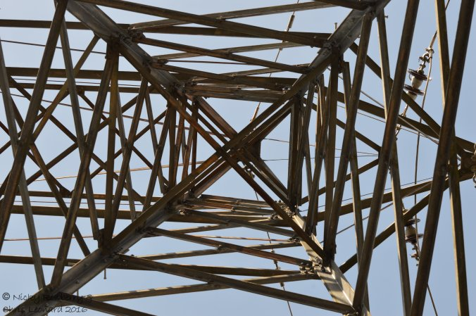 Pylon at Hartlebury