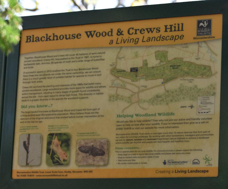 Crews Hill sign